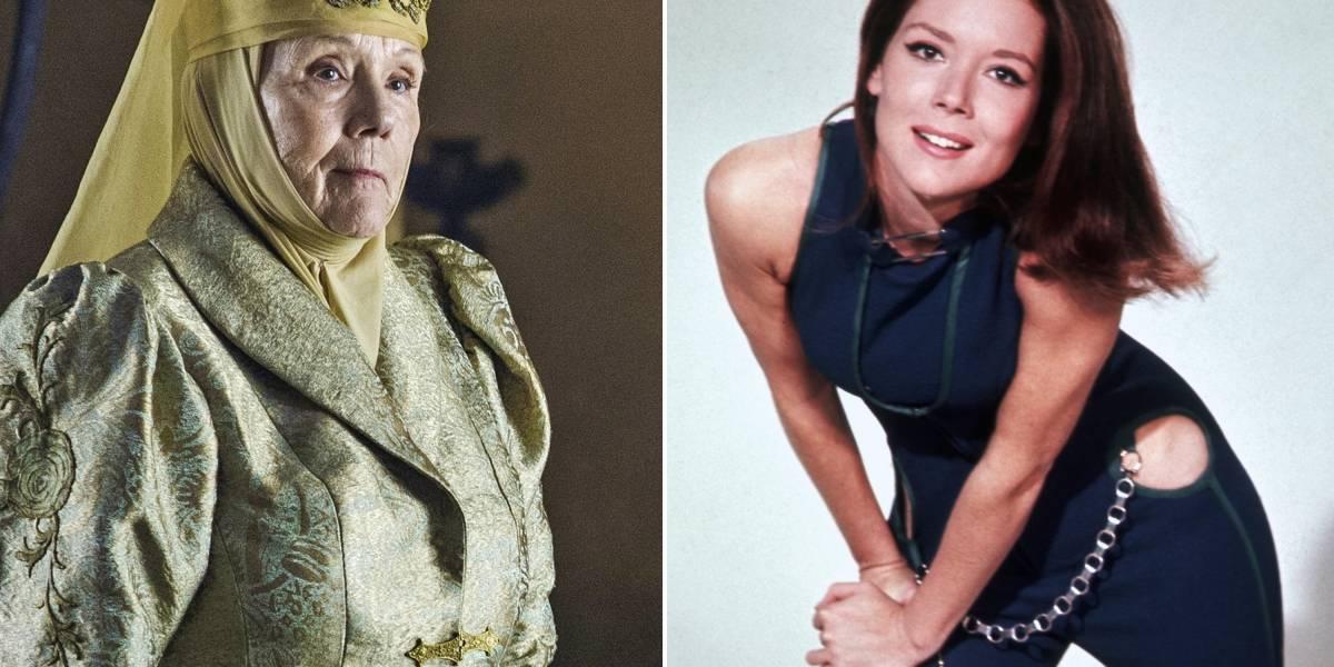 Atriz Diana Rigg, que interpretou Olenna Tyrell em 'Game of Thrones', morre aos 82 anos