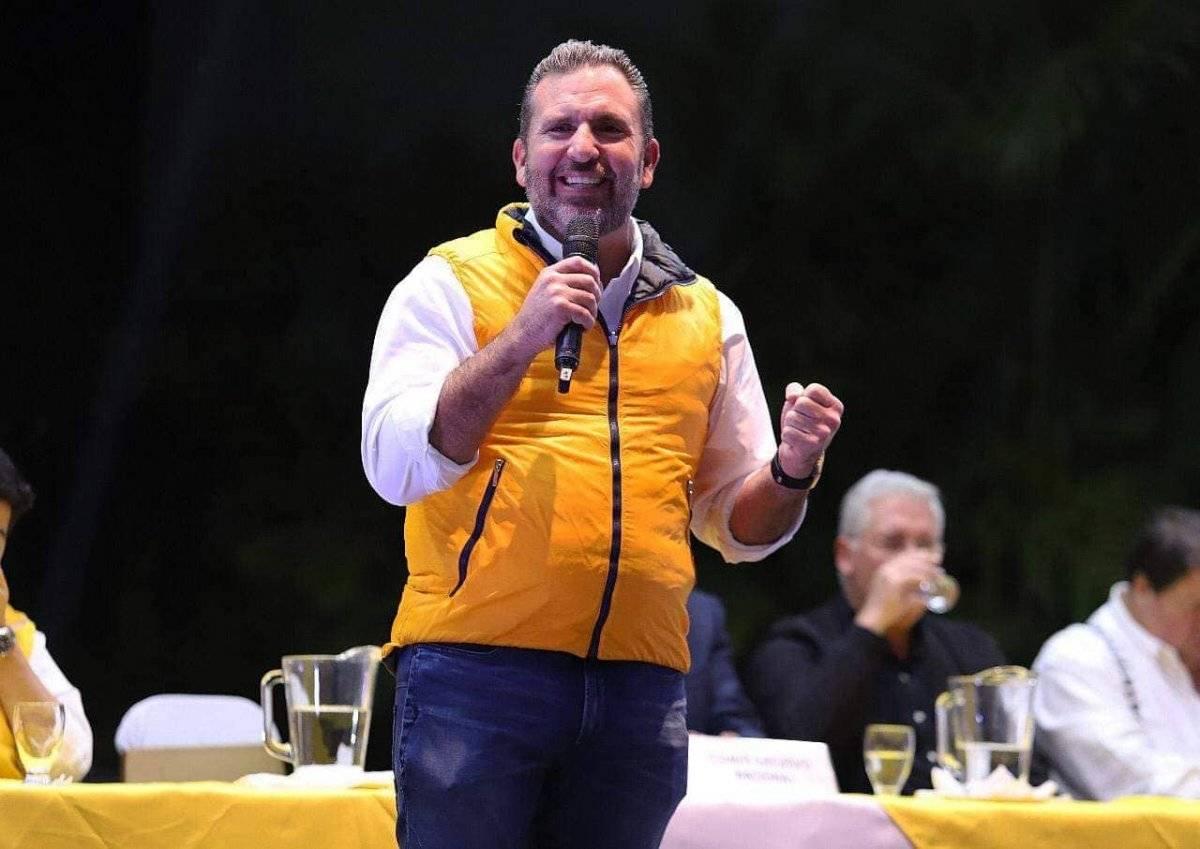 Roberto Arzú García-Granados busca ser electo presidente del país con la coalición de partidos PAN-Podemos. Foto: Facebook