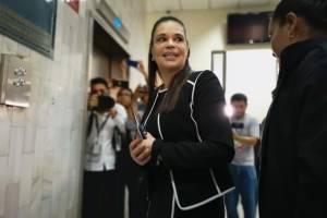 Roxana Baldetti, exjefa de Juan Carlos Monzón.