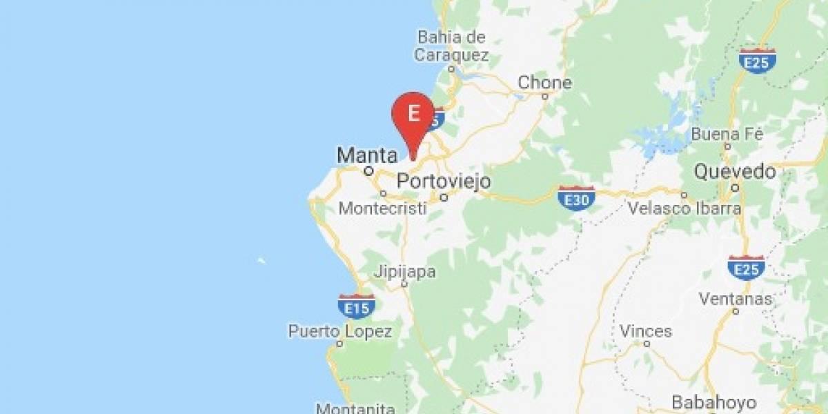 Se registra sismo de 4.1 en Jaramijó, Manabí