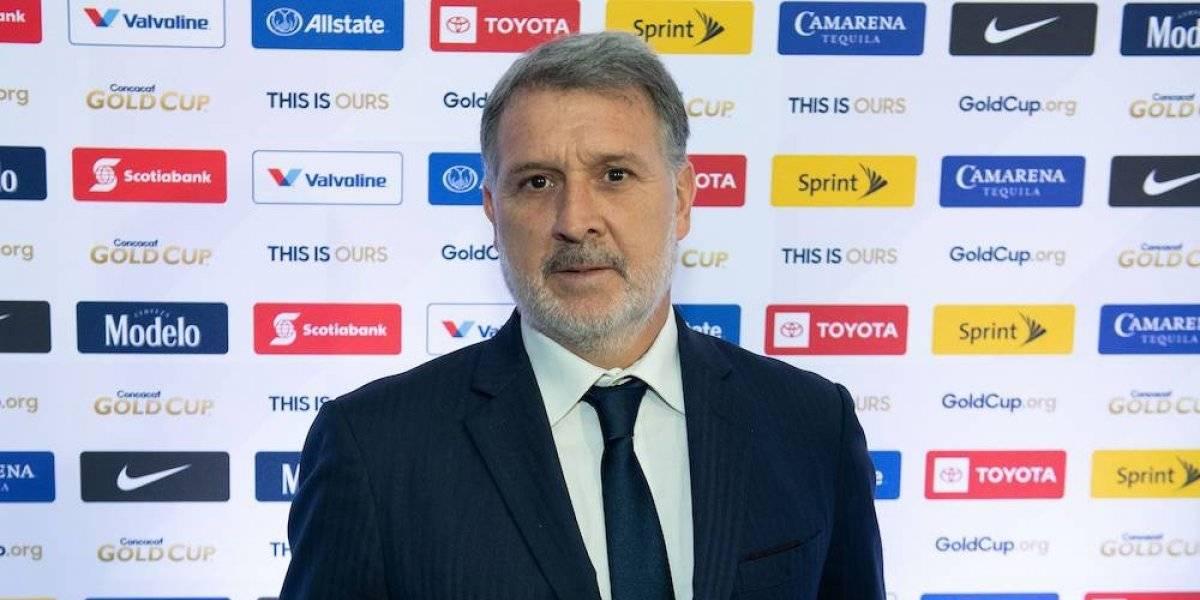 México tiene la obligación de llegar a las últimas consecuencias en Copa Oro: Martino