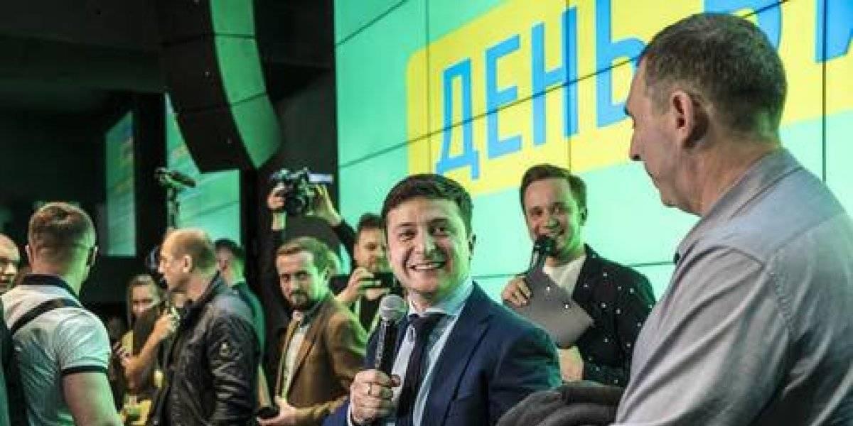 Un comediante de televisión podría convertirse en el próximo presidente de Ucrania