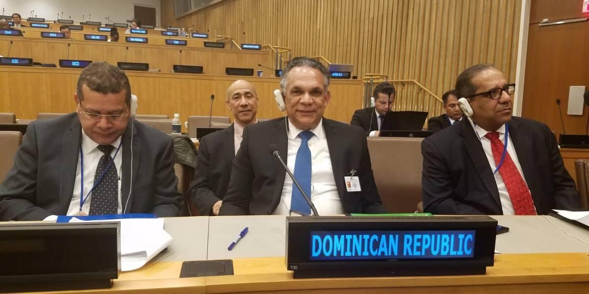 Ventura Camejo expuso en ONU experiencia RD reconocimiento a entidades destacadas en cumplimiento ODS