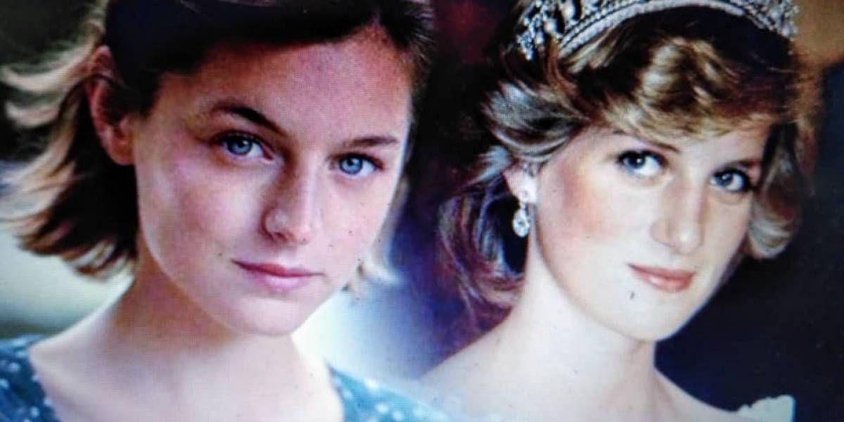 """The Crown"": Emma Corrin encarnará a la princesa Diana"