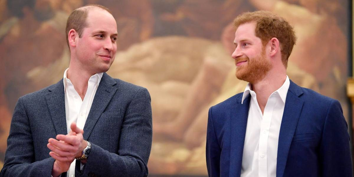 Príncipe Harry admite ter 'dias ruins' com irmão William