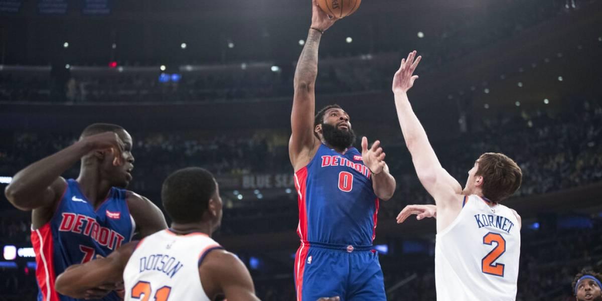 Detroit Pistons se llevan el último boleto a los playoffs de la NBA