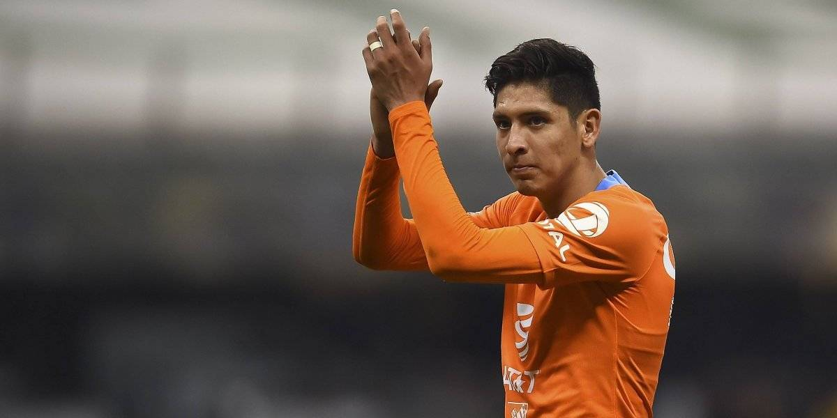 'Tú tiras mierda, yo levanto copas': Edson Álvarez a un aficionado de Chivas