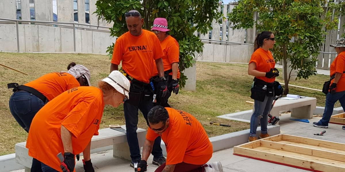 Adiestran a trabajadores de construcción para que ganen 15 dólares la hora