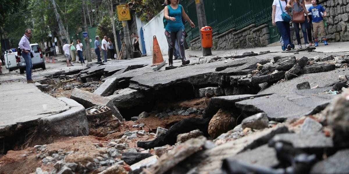 Rio de Janeiro decreta estado de calamidade pública após semana de chuvas