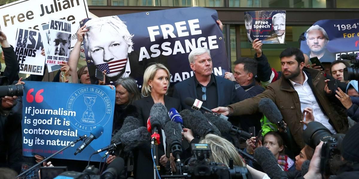 'Assange não irá para onde tem pena de morte', diz presidente do Equador