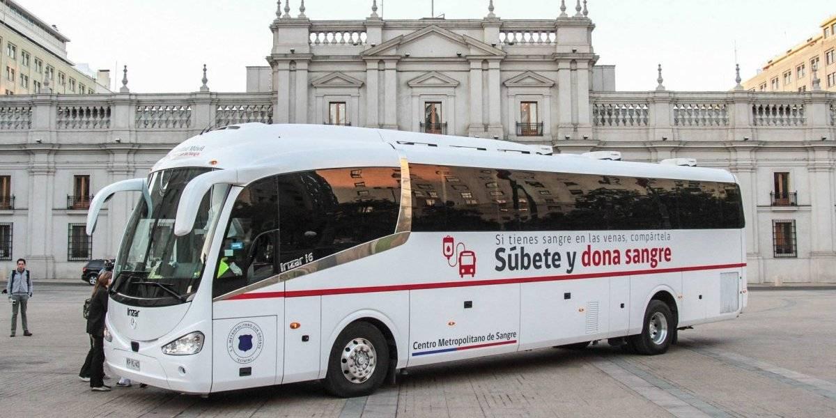 Así es el moderno bus en el que podrás donar sangre en las calles de Santiago