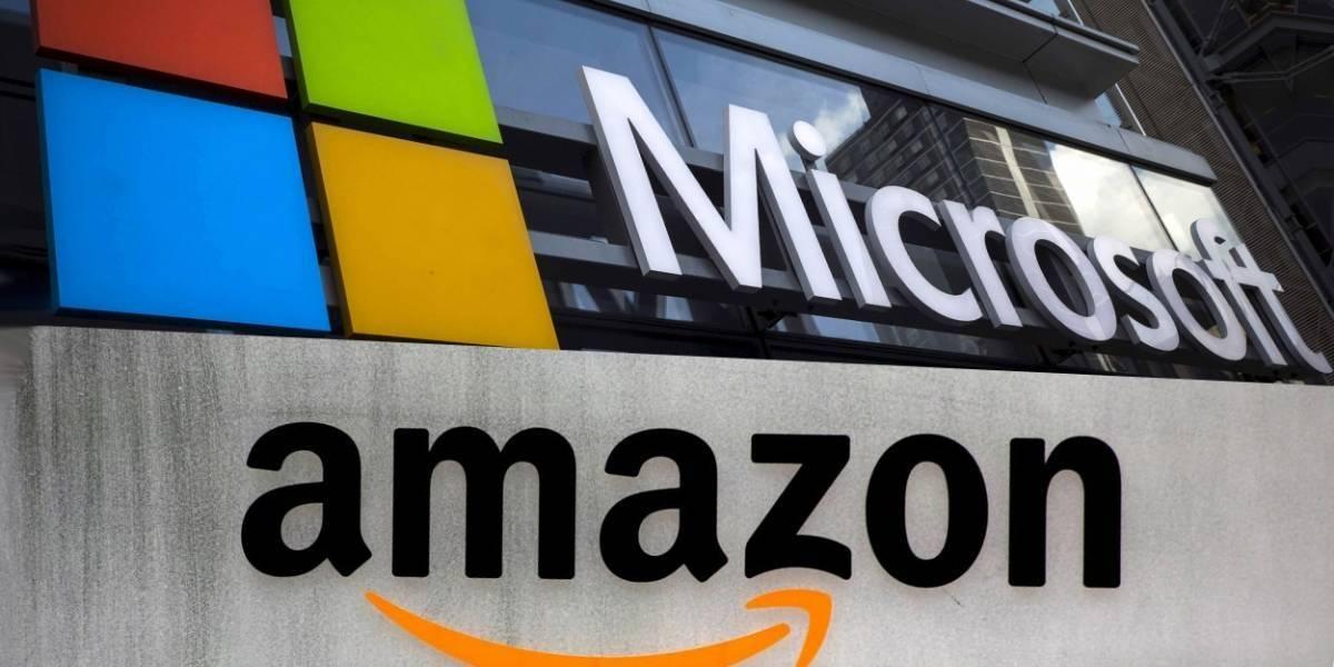 Amazon y Microsoft pelean contrato militar por $10 mil millones de dólares