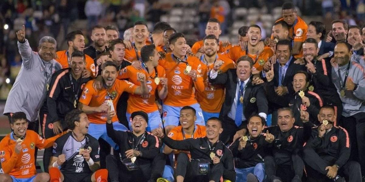 Equipos europeos felicitan al América por su título de Copa