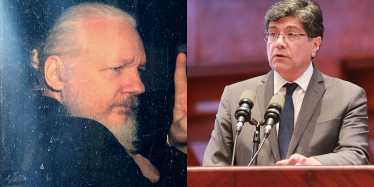 Canciller José Valencia expuso 9 motivos por los que se retiró el asilo diplomático a Julian Assange