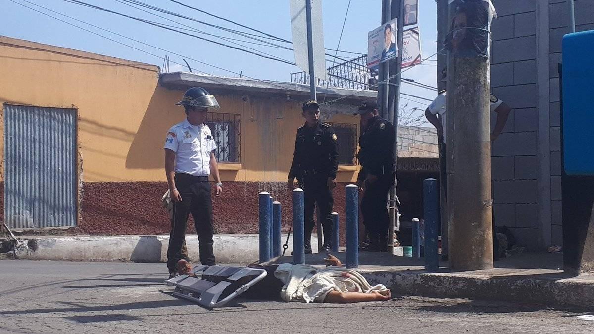 muerto en Villa Nueva