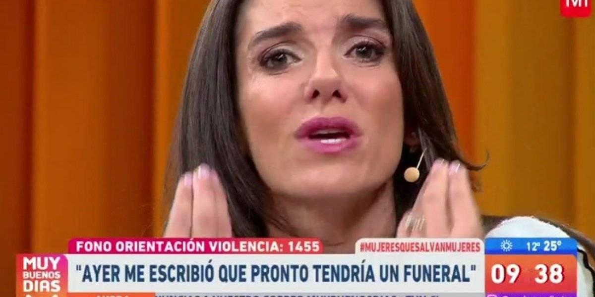 """María Luisa Godoy en picada contra acosador: """"¿Están esperando que mate a alguien?"""""""