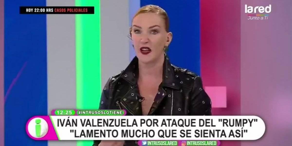 """Cata Pulido arremete en contra del Rumpy tras conflicto con Iván Valenzuela: """"Tiene una especie de Síndrome de Luli"""""""