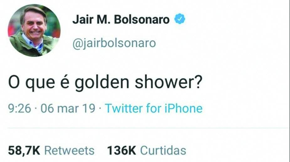 Golden Shower Bolsonaro