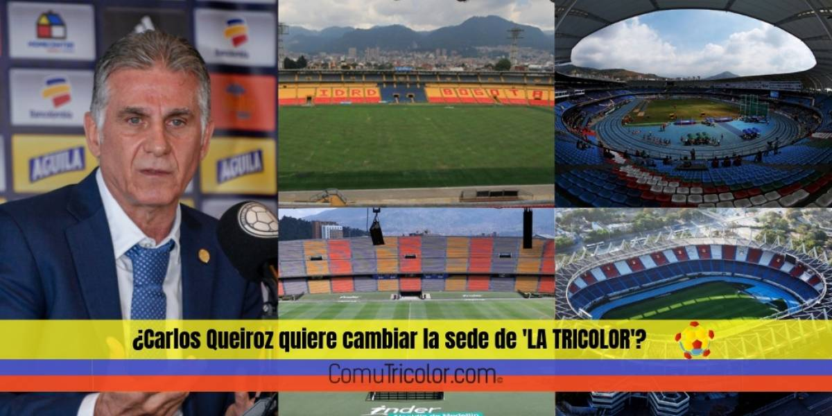 Federación confirma cual será la sede de Selección Colombia durante las eliminatorias