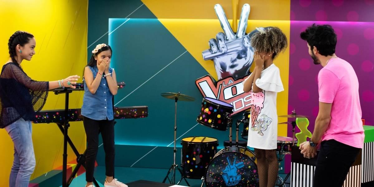 Ellas son las primeras ganadoras de las Súper Batallas de La Voz Kids