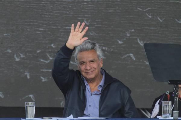 """""""Nos hemos librado de una piedra en el zapato"""", dice Lenín Moreno sobre Assange"""