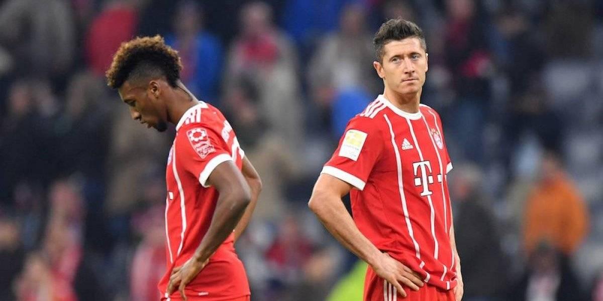 Lewandowski y Coman protagonizan pelea en entrenamiento del Bayern Munich