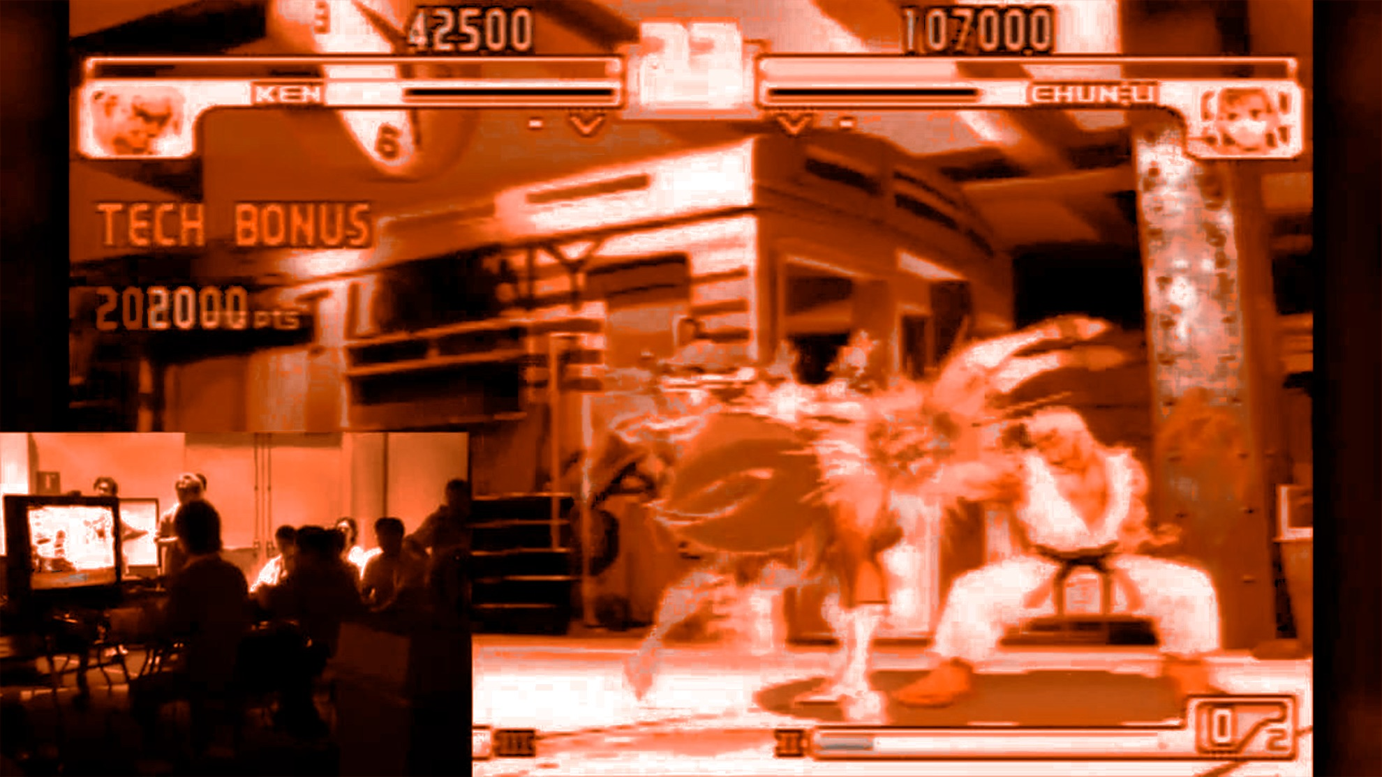 Aparecen nuevas imágenes de la pelea de Street Fighter más icónica de la historia