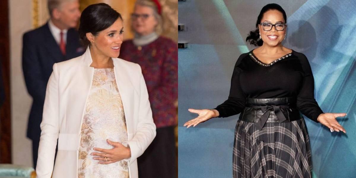 Oprah Winfrey sai em defesa da duquesa Meghan: 'Um amor de pessoa'