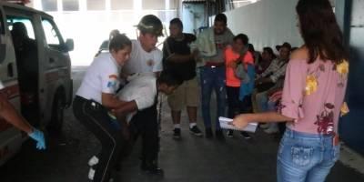 migrantes hondureños heridos por ataque armado en el Periférico