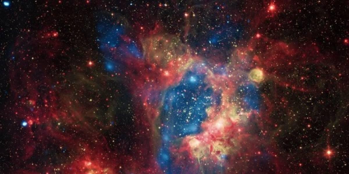 Observatório da NASA registra gigantesco aglomerado estelar