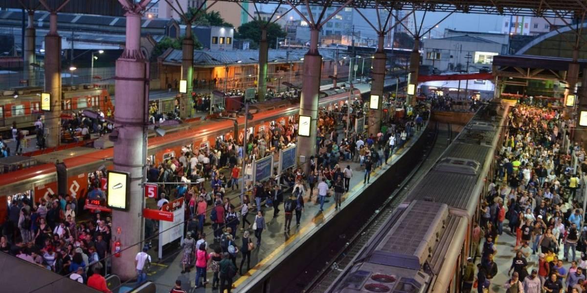 Linha 9-Esmeralda da CPTM tem falha elétrica e opera com velocidade reduzida