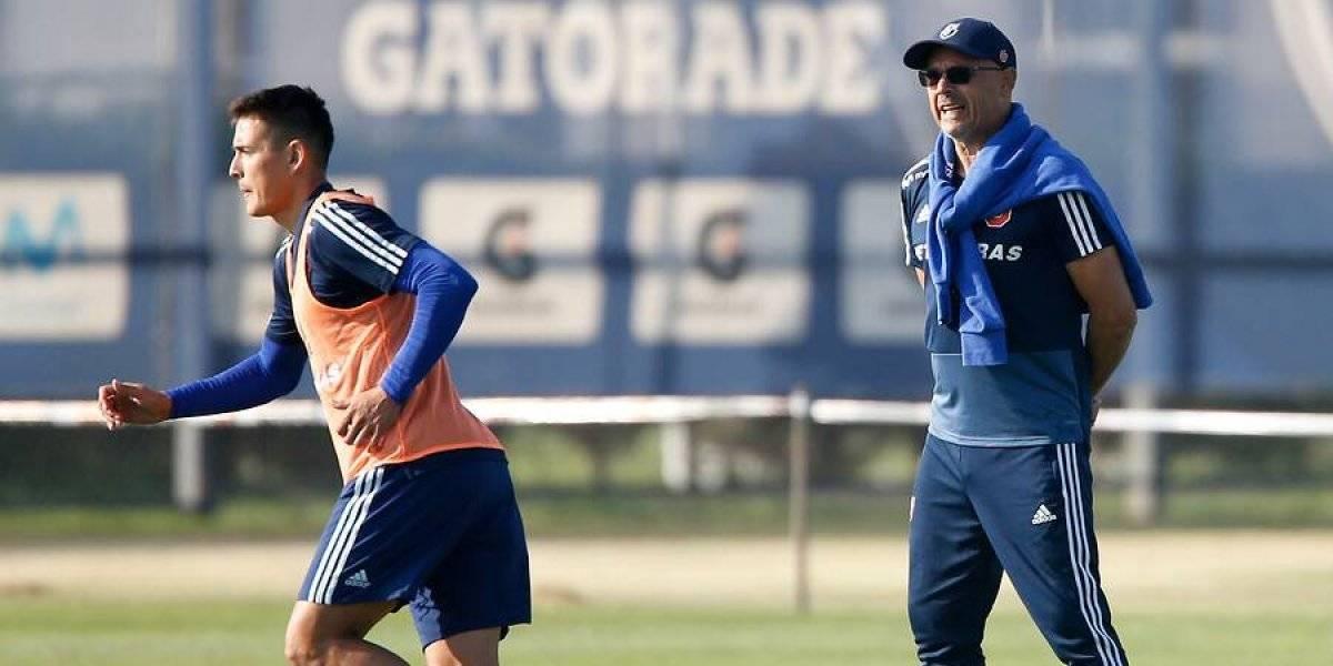 """""""No rematen a lo loco"""": Arias se mete a la cancha y corrige a los delanteros de la U para terminar con la sequía de gol"""