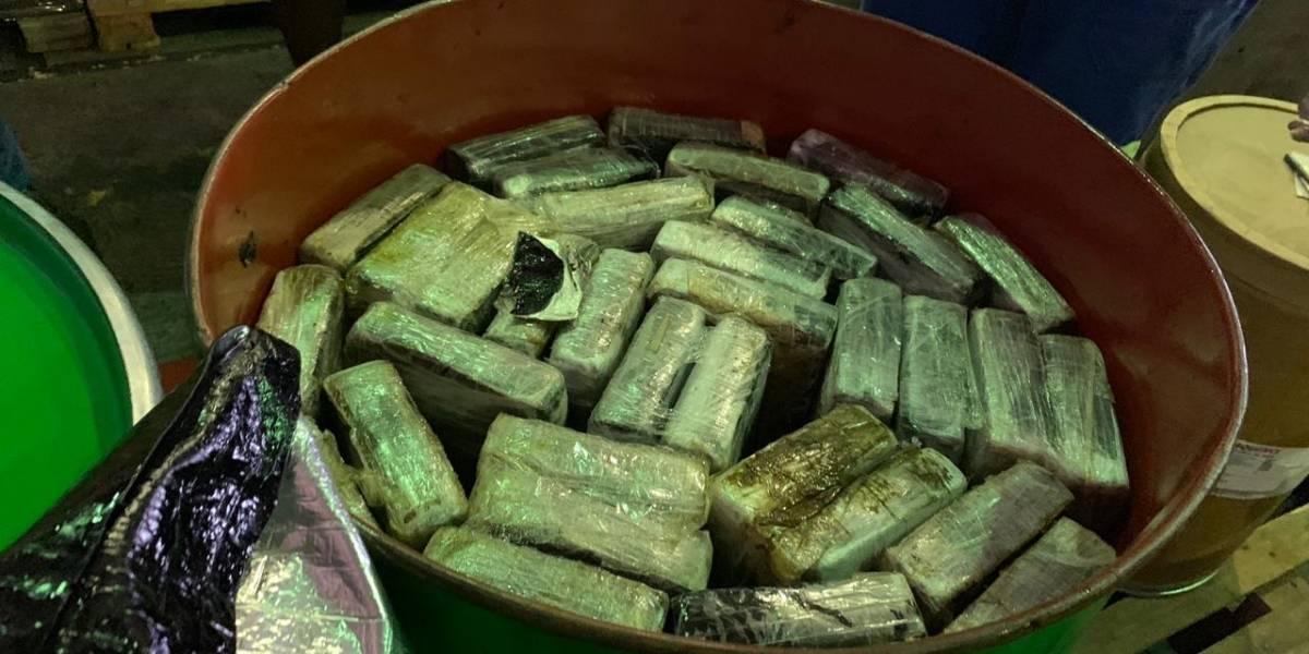 Receita Federal apreende 353 kg de cocaína no porto de Santos