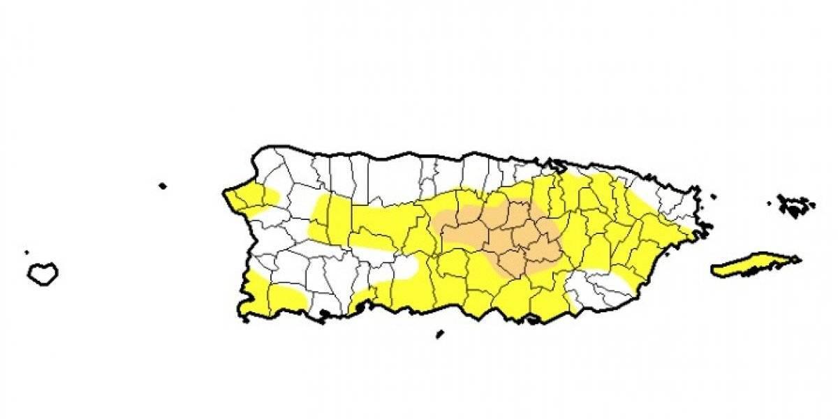 Se mantiene sequía moderada y baja levemente la sequía anómala