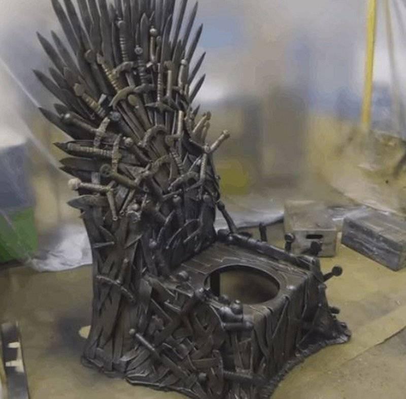 Inodoro trono