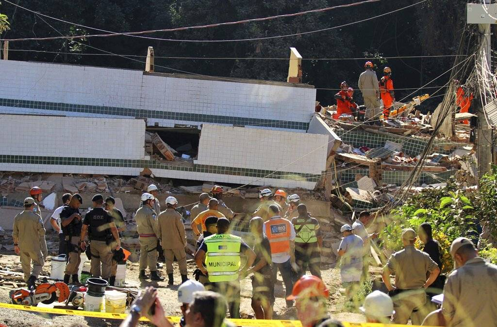 Brasil: Derrumbe de edificios en Brasil provoca cinco muertes
