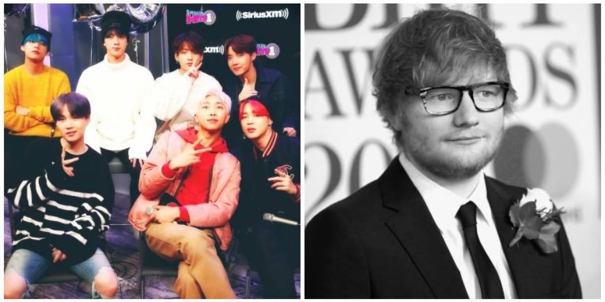 Em novo álbum, BTS traz colaboração com Ed Sheeran – ouça a fofíssima 'Make It Right'