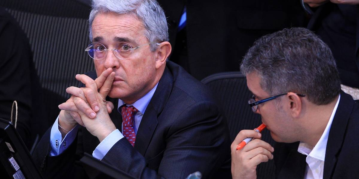 Agarrón entre famosos colombianos por culpa de Álvaro Uribe