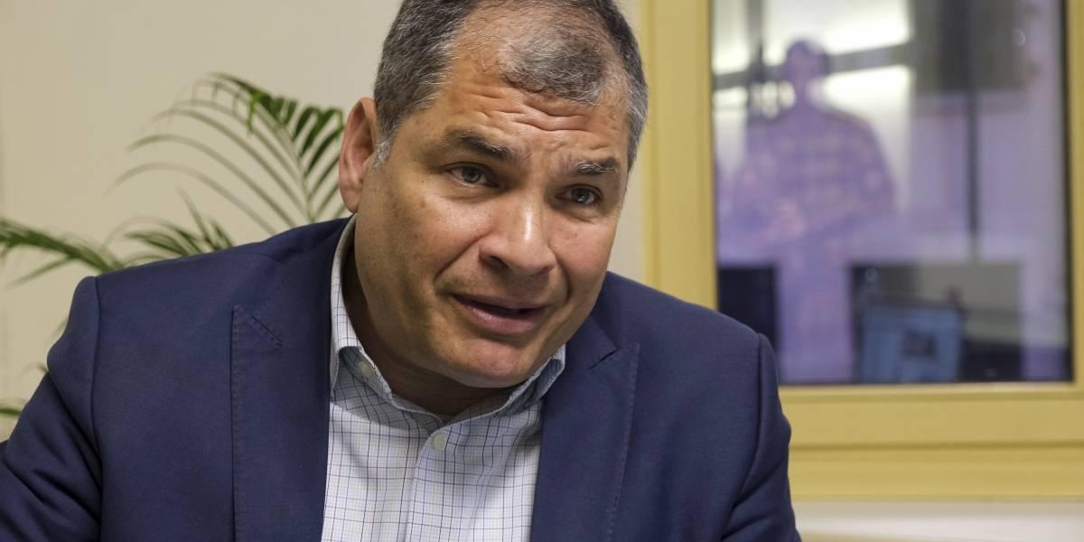 Rafael Correa se pronuncia ante pedido de Lenín Moreno a la Fiscalía