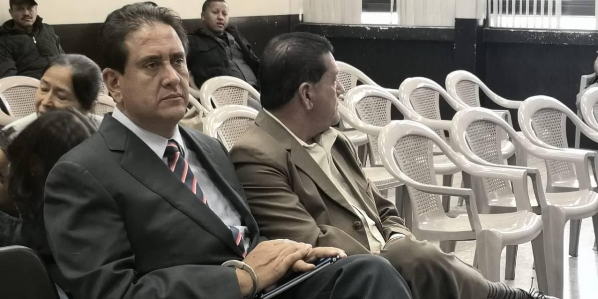 Gustavo Alejos y otras tres personas son ligadas a proceso en caso vinculado a la UNE