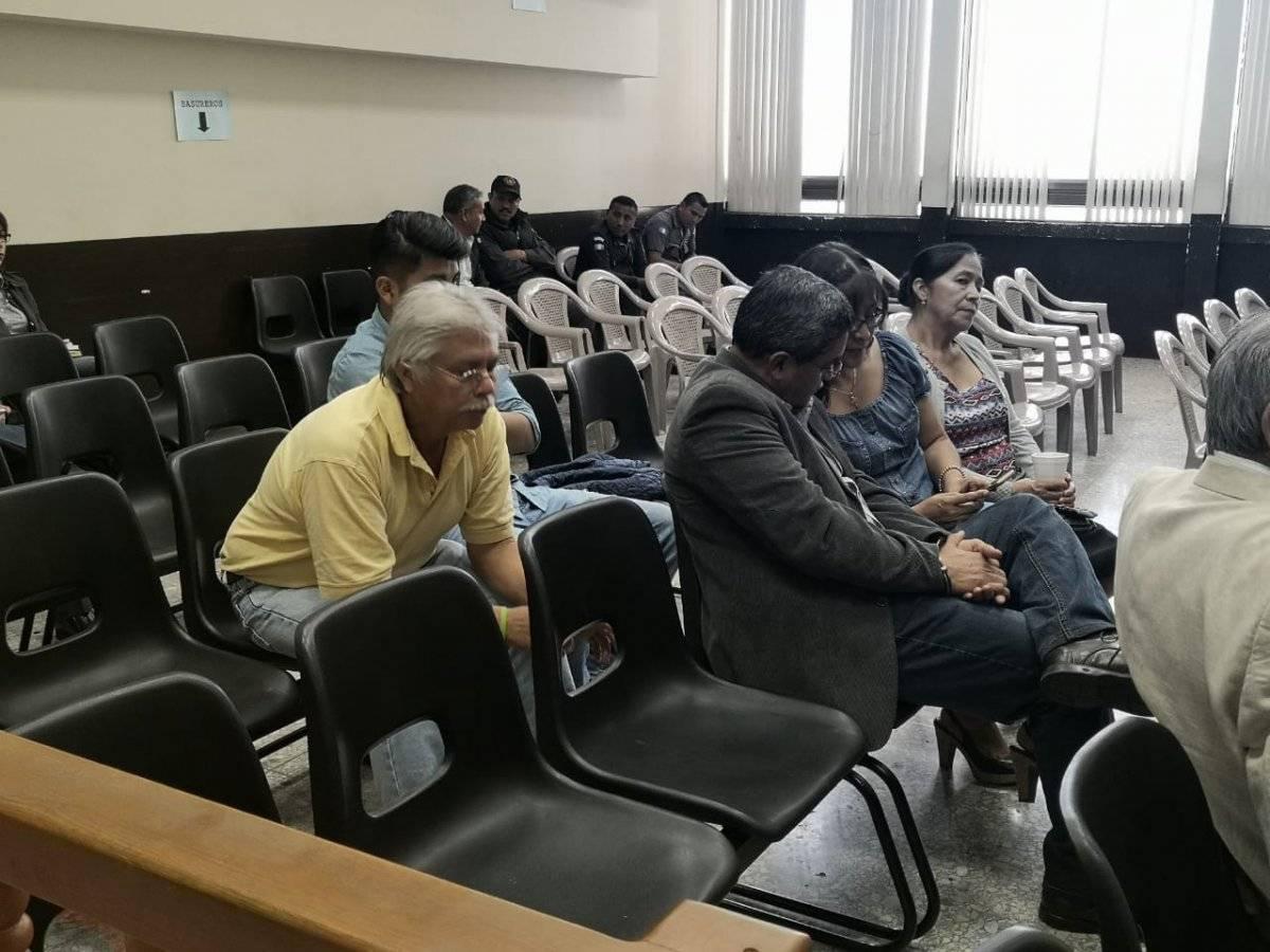 audiencia de primera declaración del caso de financiamiento electoral de la UNE