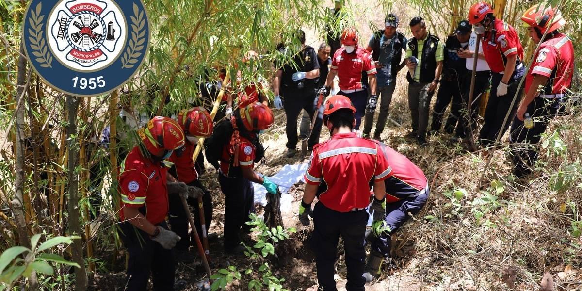 Localizan cadáveres de tres mujeres en barranco de Villa Nueva
