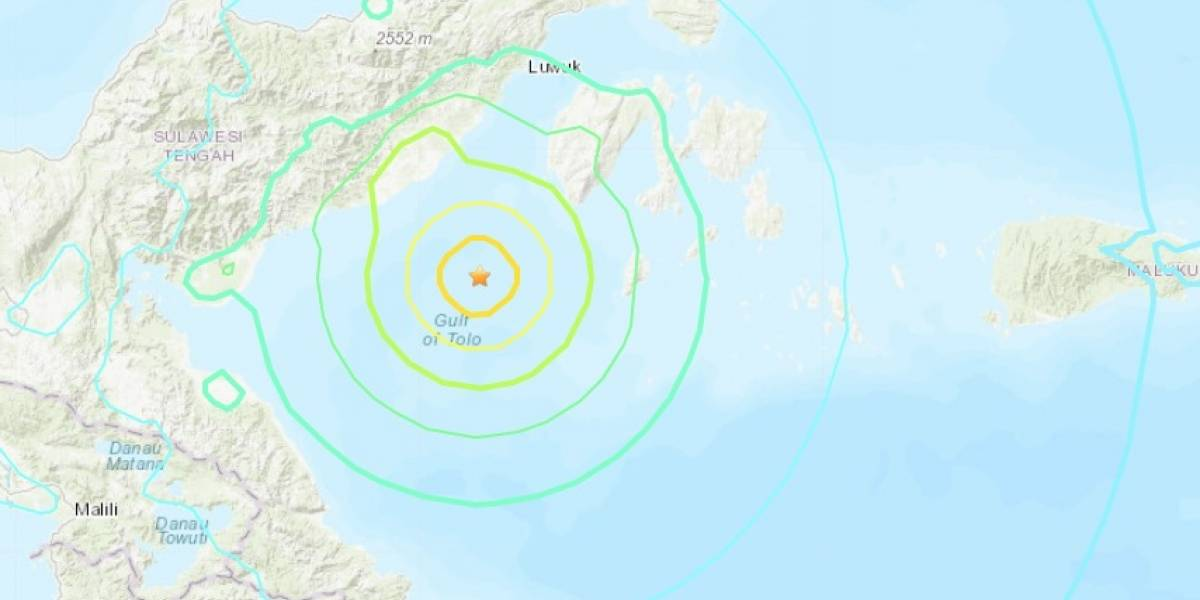 Alerta de tsunami tras terremoto en Indonesia