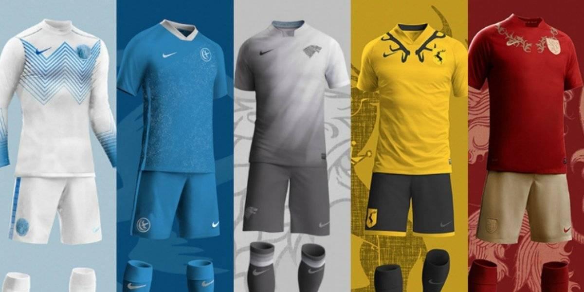Así son los uniformes de futbol inspirados en Game of Thrones