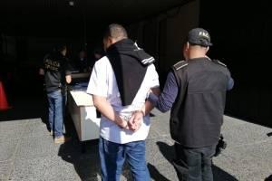 capturados en operativo del MP y CICIG contra lavado de dinero