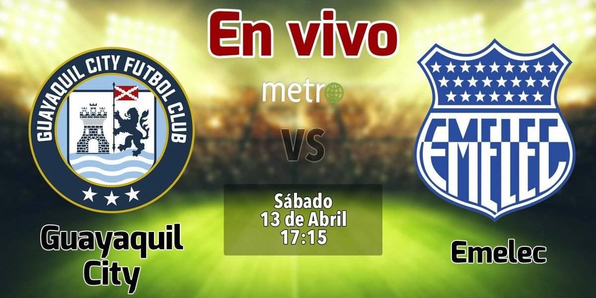 Liga pro Ecuador: Guayaquil City vs Emelec. En vivo, dónde ver el partido, hora y alienaciones