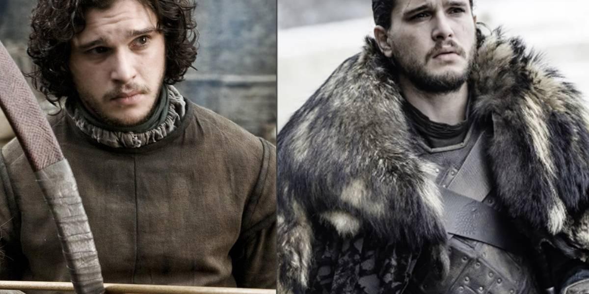 """El increíble antes y después de los protagonistas de """"Game of Thrones"""" desde la primera temporada hasta la actualidad"""