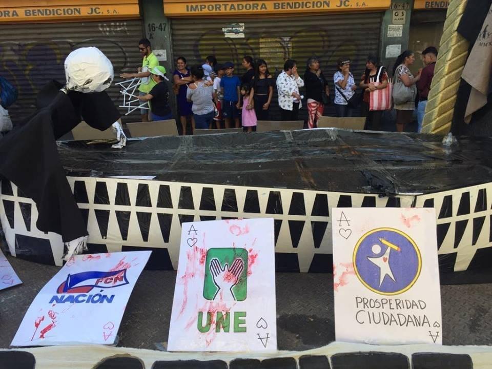 Huelga de Todos los Dolores del Pueblo 2019, organizada por la Usac. Foto: Omar Solís
