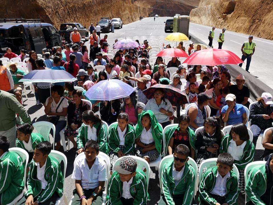 Inauguración del libramiento de Chimaltenango. Foto: Emisoras Unidas