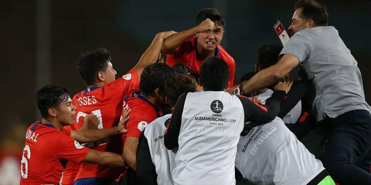 Calculadora de la fe: ¿Qué necesita Chile para ser campeón del Sudamericano Sub 17?
